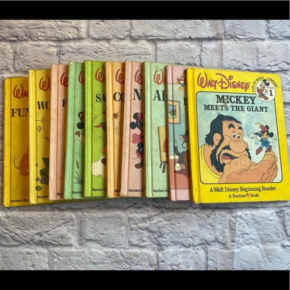 1983-1990 vintage hard cover childrens disney book